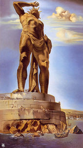 Salvador Dali - The Colossus of Rhodes