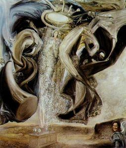 Salvador Dali - Anti-Protonic Assumption