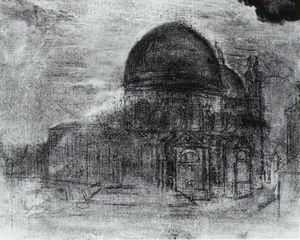Salvador Dali - Cathedral (unfinished)