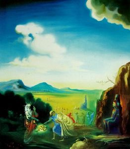 Salvador Dali - Moses and the Pharaoh