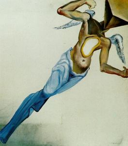 Salvador Dali - Surrealist Angel