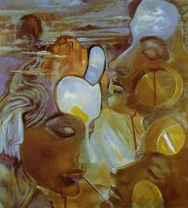 Salvador Dali - Mirror Women - Mirror Head