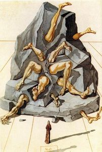 Salvador Dali - The Simoniacs
