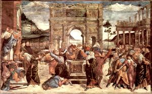 Sandro Botticelli - Scene from the Life of Moses
