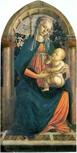 Sandro Botticelli - The Madonna of the Roses