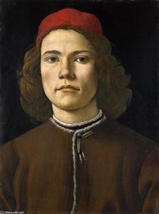 Sandro Botticelli - Portrait of a Young Man