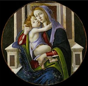 Sandro Botticelli - Madonna and Child