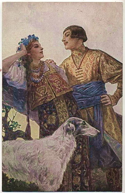 Proud by Sergey Solomko (1867-1928, Russia) | Museum Art Reproductions Sergey Solomko | WahooArt.com