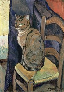 Suzanne Valadon - Study of a cat
