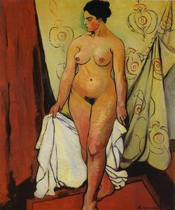 Suzanne Valadon - Nude Woman with Drapery