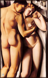 Tamara De Lempicka - Adam and Eve