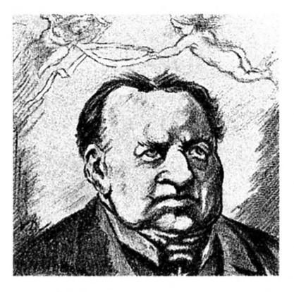 Abraham Kuyper, 1910 by Theo Van Doesburg (1883-1931, Netherlands)