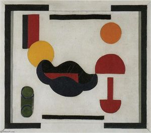 Theo Van Doesburg - Still Life (Composition V)