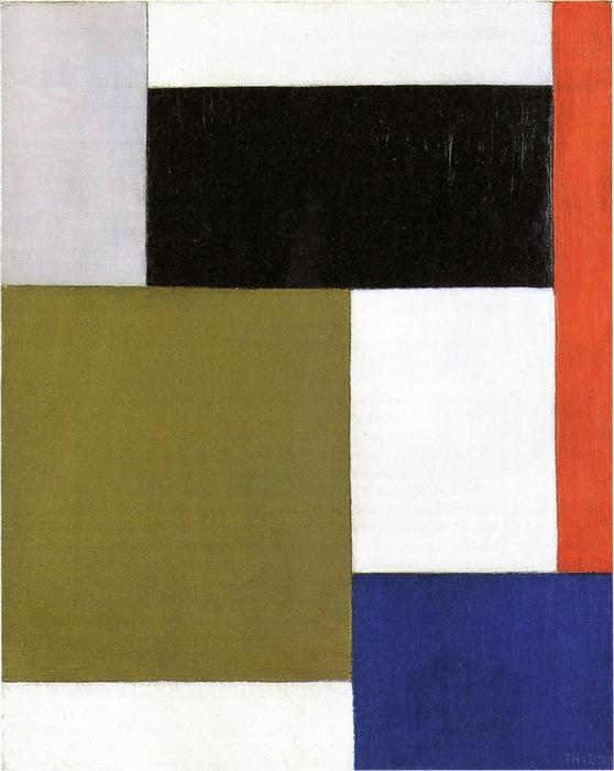 Composition, 1923 by Theo Van Doesburg (1883-1931, Netherlands) | WahooArt.com
