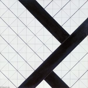 Theo Van Doesburg - Counter composition VI