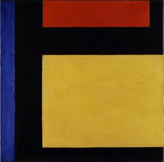 Counter composition X, 1924 by Theo Van Doesburg (1883-1931, Netherlands) | WahooArt.com