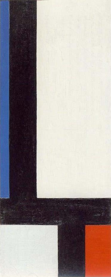 Contra-Composition VII, Oil On Canvas by Theo Van Doesburg (1883-1931, Netherlands)