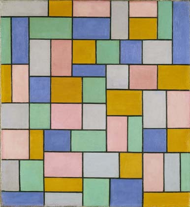 Composition in dissonances, Oil On Canvas by Theo Van Doesburg (1883-1931, Netherlands)
