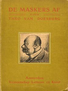 Theo Van Doesburg - Cover of --The masks--