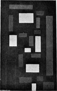 Theo Van Doesburg - Composition VI (on black fond)