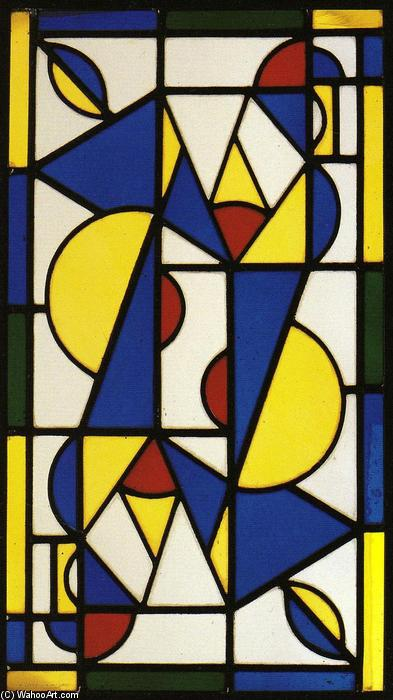 Dance I, 1917 by Theo Van Doesburg (1883-1931, Netherlands)