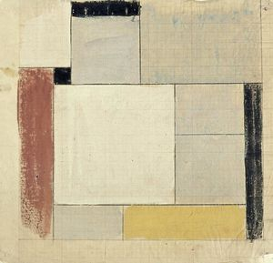 Theo Van Doesburg - Preliminary design for the floor