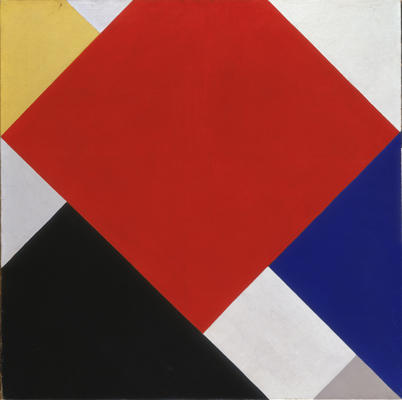 Counter composition V, 1924 by Theo Van Doesburg (1883-1931, Netherlands)