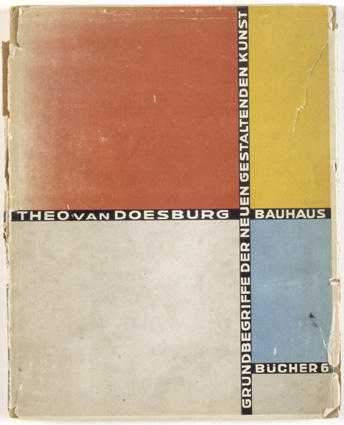 Order Painting Copy : Cover of `Basic concepts of the new creative art` by Theo Van Doesburg (1883-1931, Netherlands) | WahooArt.com
