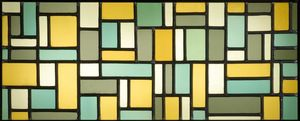 Theo Van Doesburg - Stained glass composition VIII