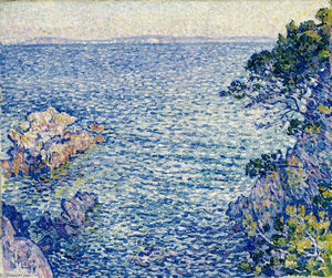 Theo Van Rysselberghe - The Point of Rossignol