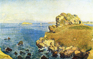 Theo Van Rysselberghe - The Pointe de per Kiridec at Roscoff