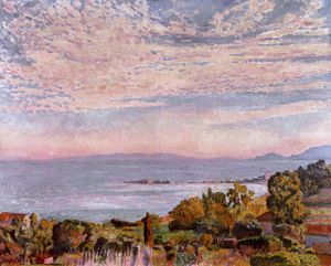 Theo Van Rysselberghe - The Bay of St. Clair