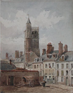 Theodore Robinson - View of the belfry of Orleans