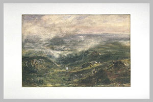 Theodore Robinson - Paysage of Auvergne
