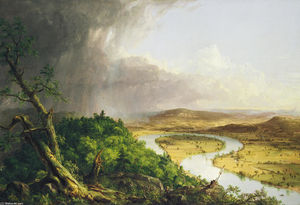 Thomas Cole - View from Mount Holyoke