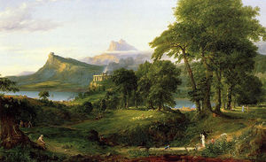 Thomas Cole - The Arcadian (Pastoral State)