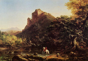 Thomas Cole - The Voyage of Life Youth