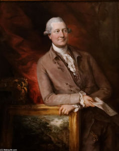 Thomas Gainsborough - Portrait of James Christie