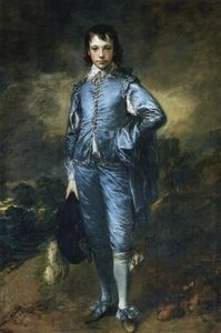 Thomas Gainsborough - The Blue Boy (Portrait of the Jonathan Buttall)