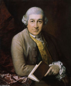 Thomas Gainsborough - Portrait of David Garrick