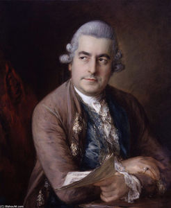 Thomas Gainsborough - Portrait of Johann Christian Bach