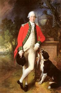 Thomas Gainsborough - Portrait Of Colonel John Bullock