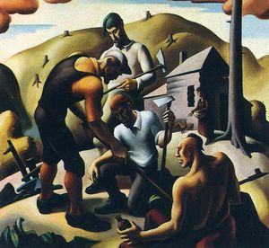 Thomas Hart Benton - Second Chapter. The American Historical Epic Planters