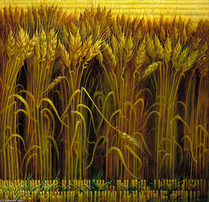 Thomas Hart Benton - Wheat