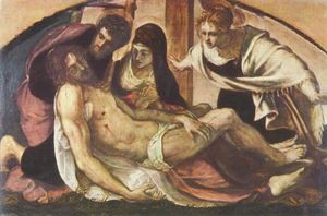 Tintoretto (Jacopo Comin) - Lamentation
