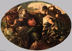 Tintoretto (Jacopo Comin) - The Sacrifice of Isaac