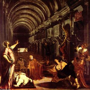Tintoretto (Jacopo Comin) - Finding of the body of St Mark