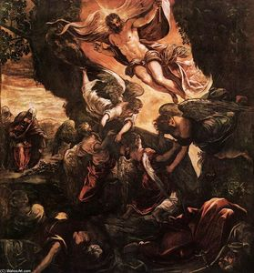 Tintoretto (Jacopo Comin) - The Resurrection of Christ