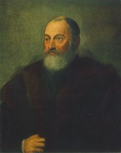Tintoretto (Jacopo Comin) - Portrait of a Man