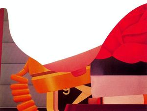 Tom Wesselmann - Bedroom Painting